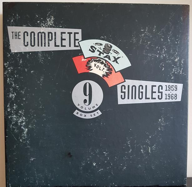 THE COMPLETE STAX SINGLES 1959 to 1968 - 9 CD BOX SET WITH 64 PAGE BOOKLET