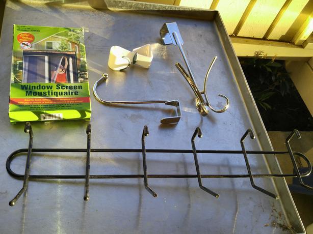 FREE: door hangers and window screen kit (NIB)