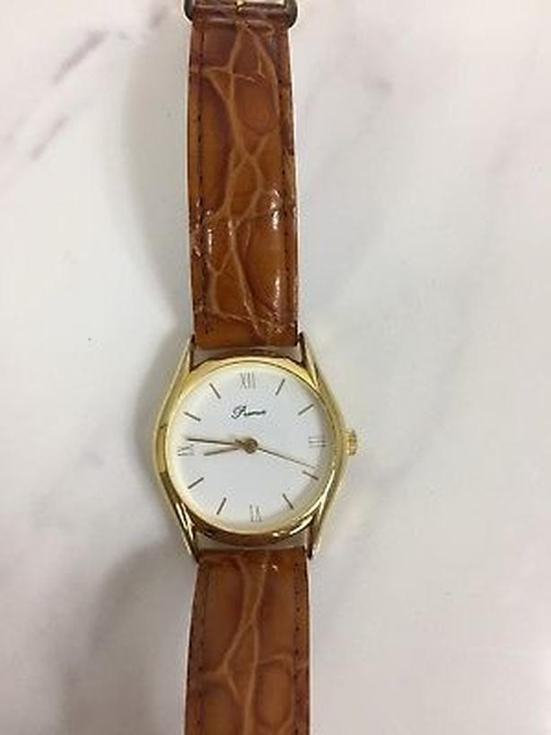 Premia/Seiko Vintage gold Mens' wristwatch