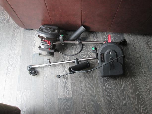 Pair of scotty electric down riggers.