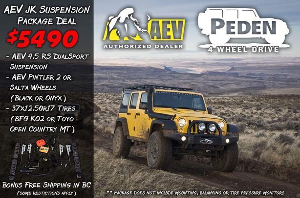 Jeep JK suspension package North Saanich & Sidney , Victoria