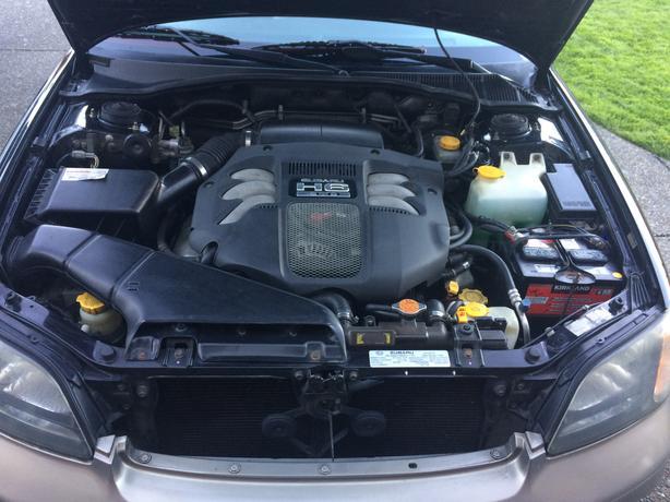 2001 Subaru Outback 3 0 H6 VDC Outside Metro Vancouver