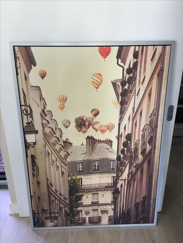 Vilshult hot air balloons frames picture IKEA