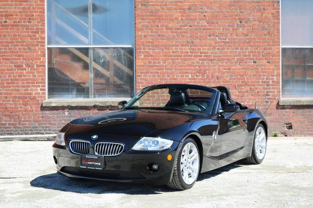 2005 BMW Z4 3.0i Convertible Soft Top