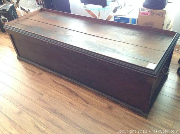 Antique Captains Chest