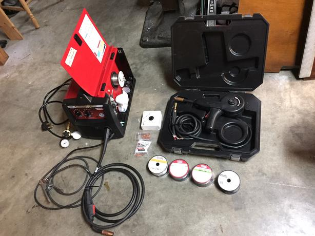  Log In needed $700 · lincoln 180 hd mig welder and lincoln spool gun