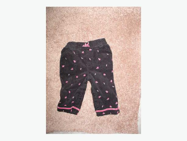 Black Pants - Size 6/9 Months