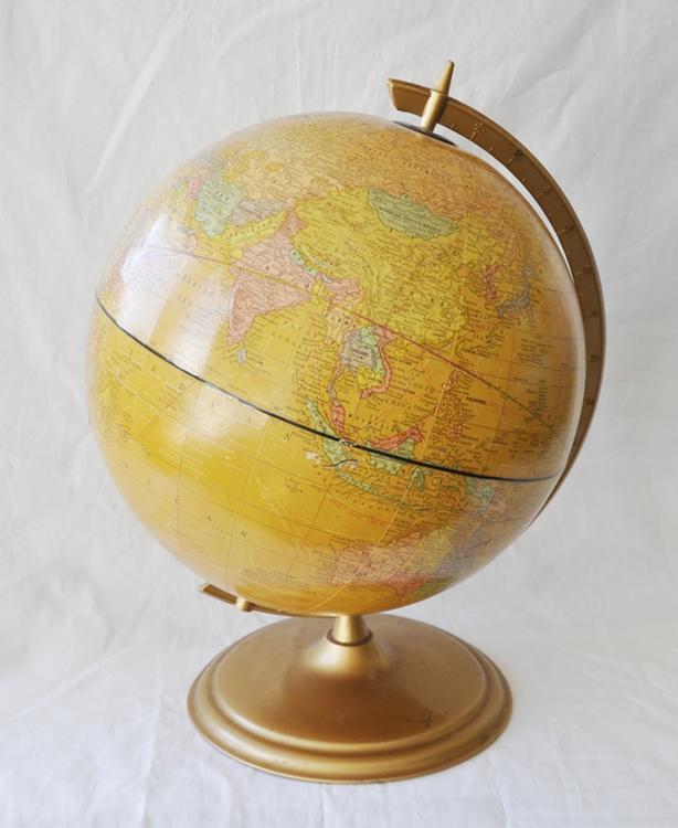 Vintage 12-inch Gram's Imperial Globe