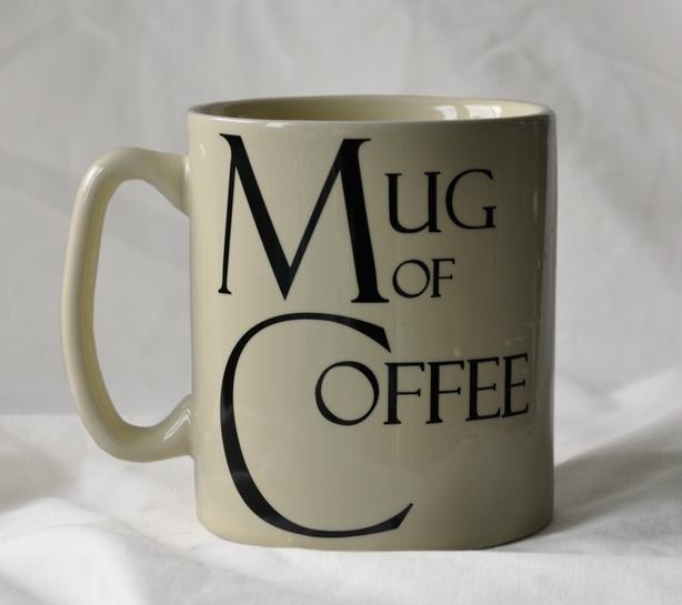 Large coffee mug - great for Father's Day