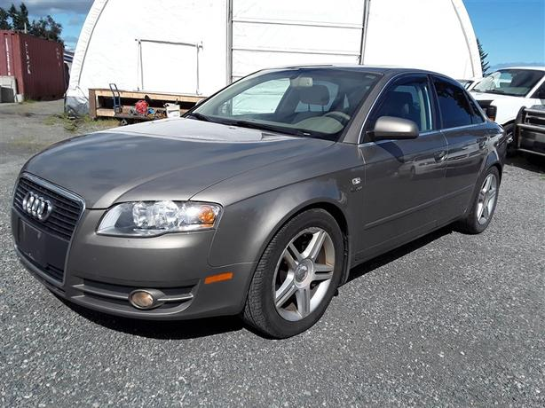 2006 Audi A4, triptronic 6 cylinder with only 202k km's!!! clean interior!