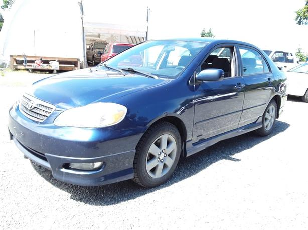 2006 Toyota Corolla, 4 cylinder FWD with only 226k km's!!!