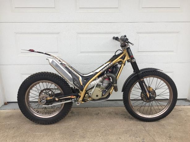 2009 GAS GAS RAGA 300cc trials motorcycle