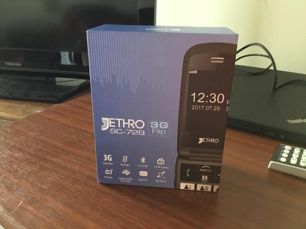 Jethro sc-729 seniors phone NEW flip