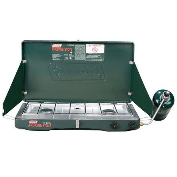 Coleman Propane Stove with Two Gas