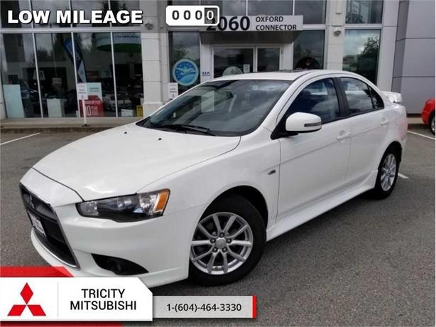 2015 Mitsubishi Lancer SE  SUNROOF-HEATED SEATS-LOW KMS