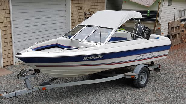 **1993 Bayliner Classic 1600BR**Merc Force 70 HP 2 Stroke
