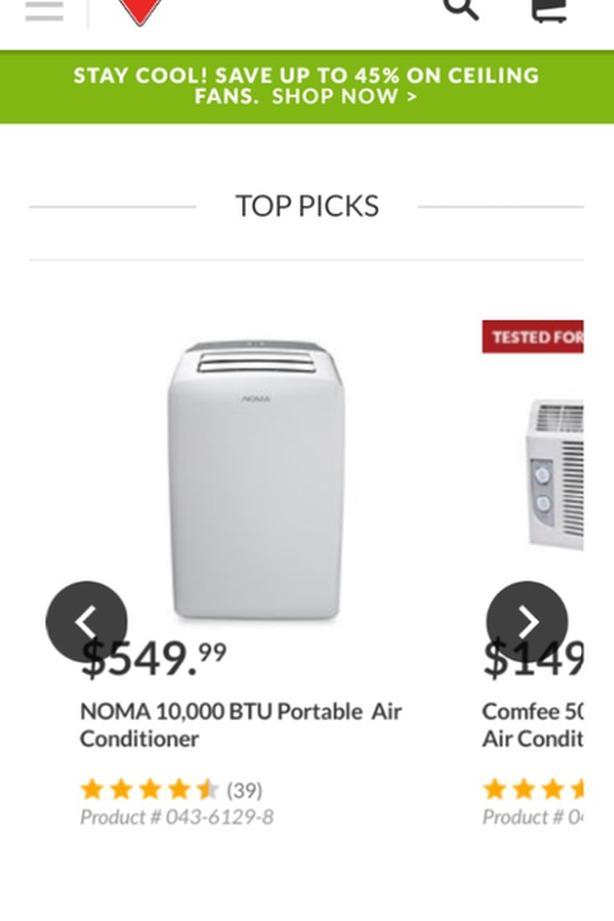 Portable Air Conditioner Duncan, Cowichan - MOBILE