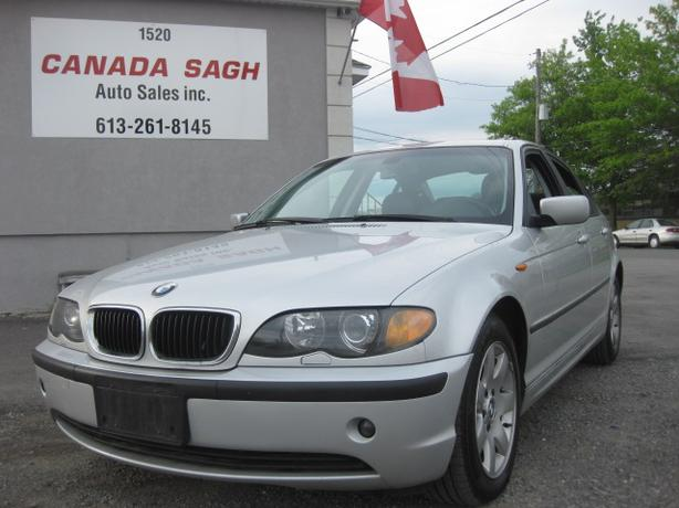 2006 BMW 325xi, AWD,  SUNROOF, LEATHER, 12 M WRTY+SAFETY