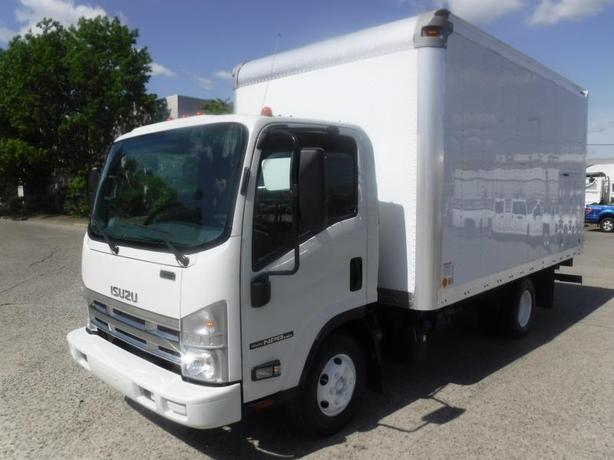 2012 Isuzu NPR 14 Foot Cube Van Diesel