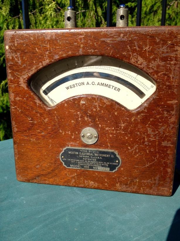 Weston 1898 Ammeter