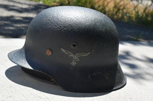  Log In needed $175 · Refurbished WW2 Luftwaffe German military helmet