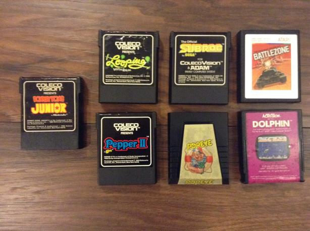 Atari 2600 and Colecovision Games For Sale or Trade Saanich