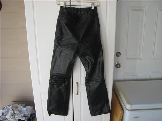 Leather, Women's Motorcycle Pants