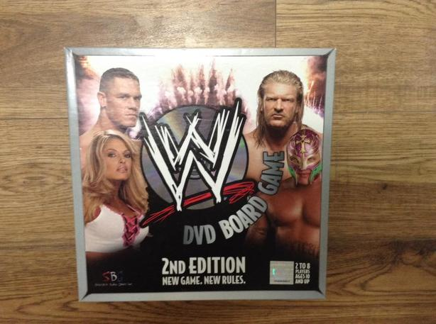 Free: wwe dvd board game. (new) games listia. Com auctions for.