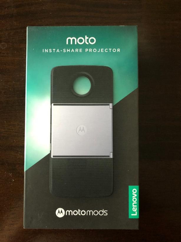 Motorola Moto Insta-Share Projector Mod