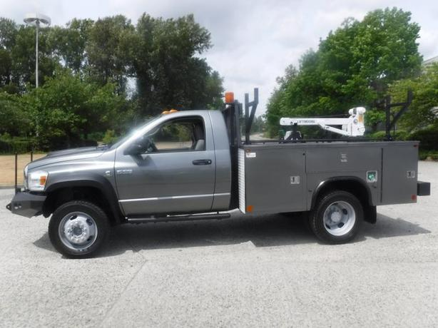 2008 Sterling Bullet Service Box Diesel Crane Truck 4WD