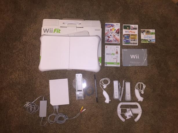 Nintendo wii white rvl-001