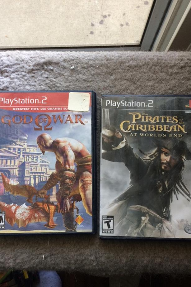 1 Ps2 console and 18 ps2 games for sale Central Ottawa