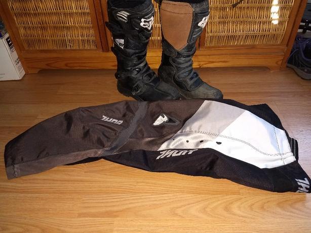 Fox Motocross Boots/ Thor pants