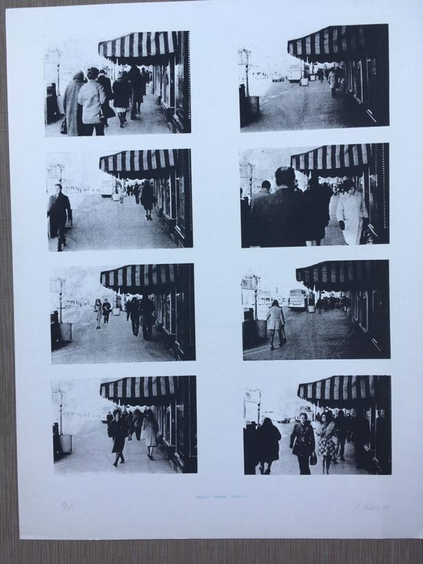 "Richard Yates Visual Art ""About Those People"" Limited Edition Print"