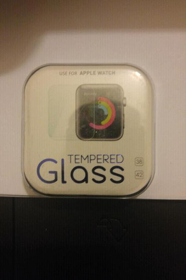 Brand New Tempered Glass iWatch Screen Protectors
