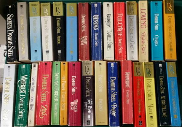 42 Danielle Steele Books