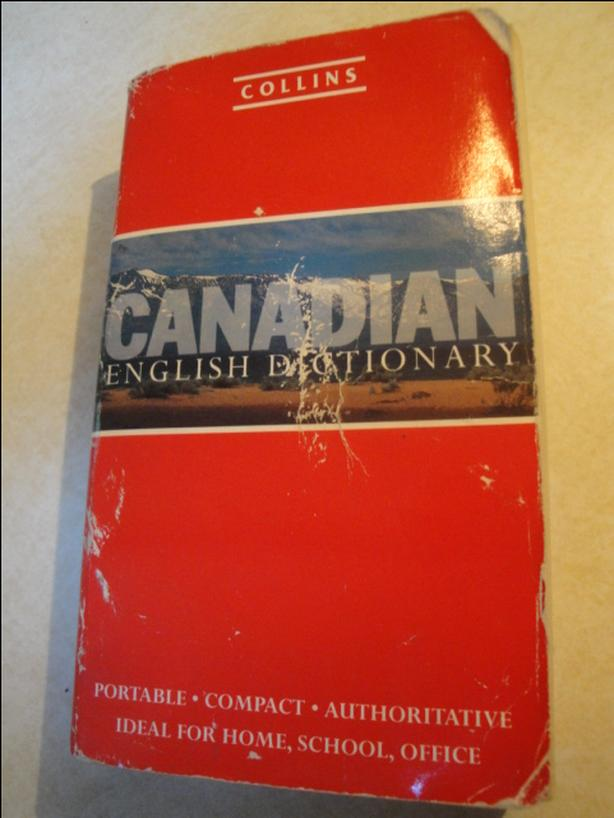 Collins Canadian English Dictionary