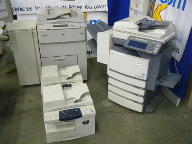 Package Of 4 Copiers - Xerox Workcenter M20I Fax, Xerox Workcenter M20I Fax, Ric