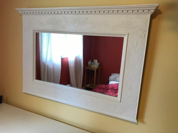 Antique French Provincial Mirror Saanich Victoria