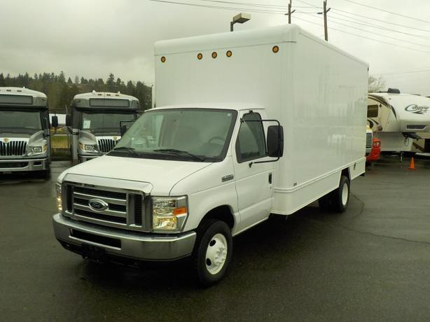 2008 Ford Econoline E-450 16 Foot Dually Cube Van Diesel