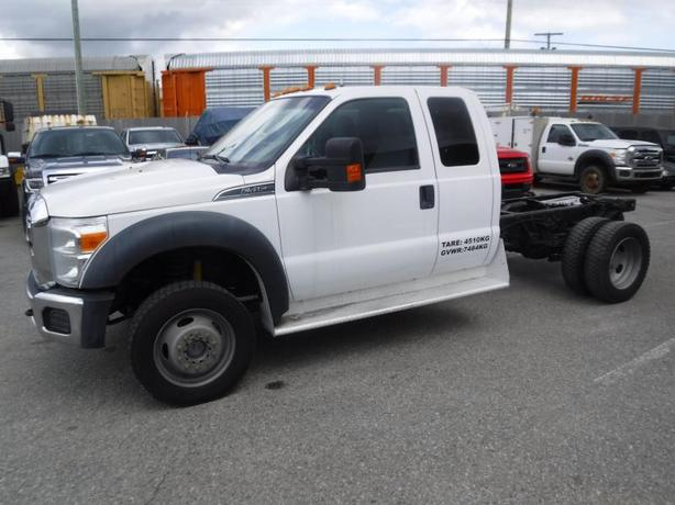 2011 Ford F-450 SD SuperCab Dually Cab & Chassis 4WD