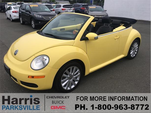 2008 Volkswagen New Beetle Convertible Trendline