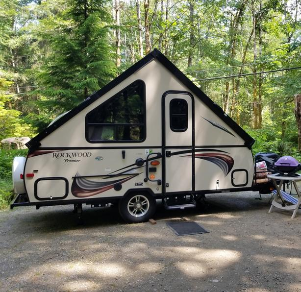  Log In needed $16,500 · Rockwood Hard Side Pop Up Camper Trailer