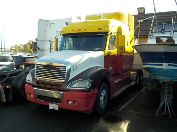 2007 Freightliner ST120 Highway Tractor Sleeper Cab Manual