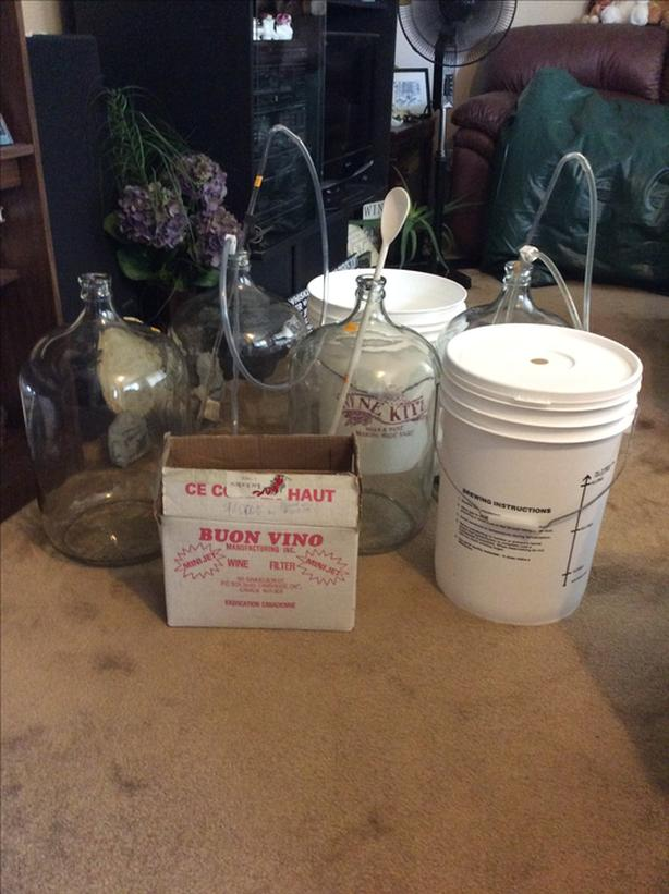 MISC. WINE / BEER MAKING SUPPLIES