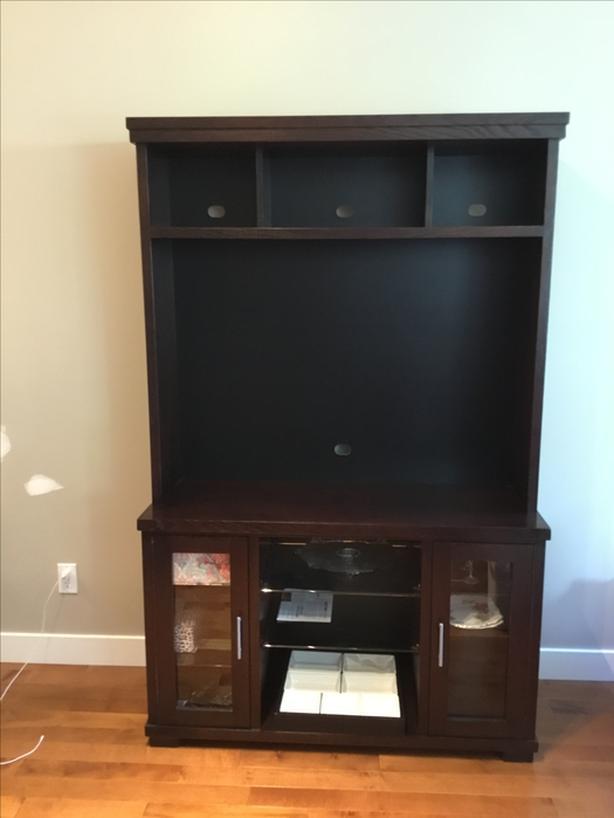 TV Entertainment And Components Storage Unit