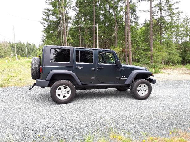2007 Jeep Wrangler Unlimited 4 Door