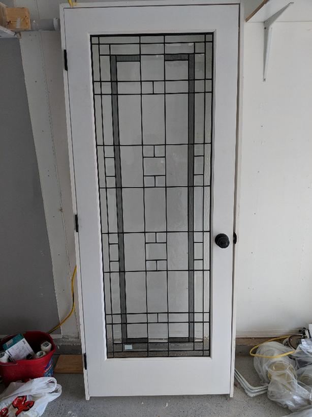 Interior Door With Leaded Glass West Shore Langfordcolwood