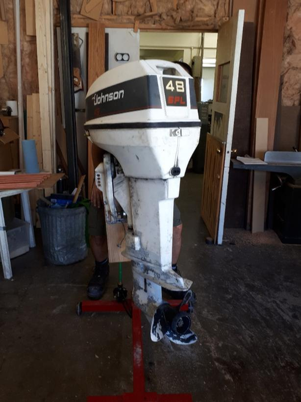48 hp johnson outboard