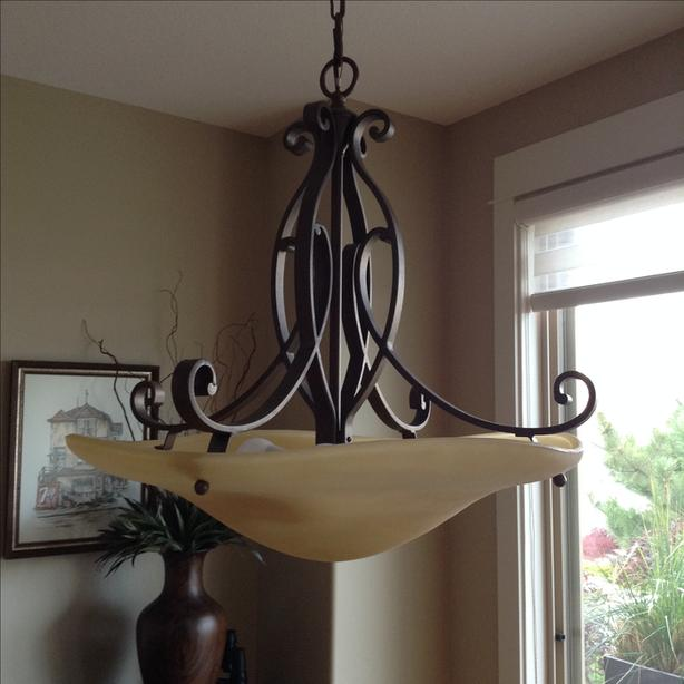 Dining room fixture